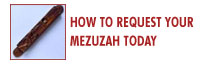 Get your mezuzah today